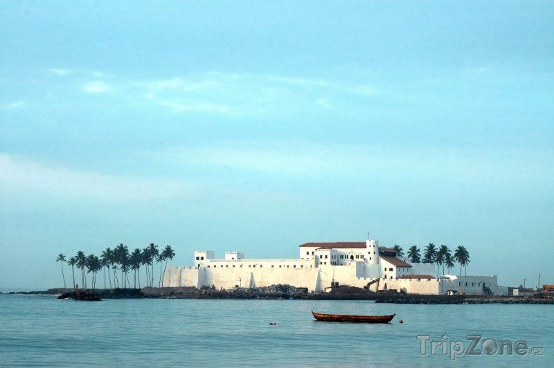 Fotka, Foto Pohled na hrad Elmina (Ghana)