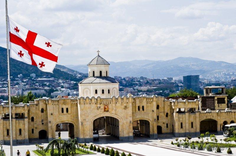 Fotka, Foto Pohled na město Tbilisi (Gruzie)
