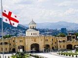 Pohled na město Tbilisi