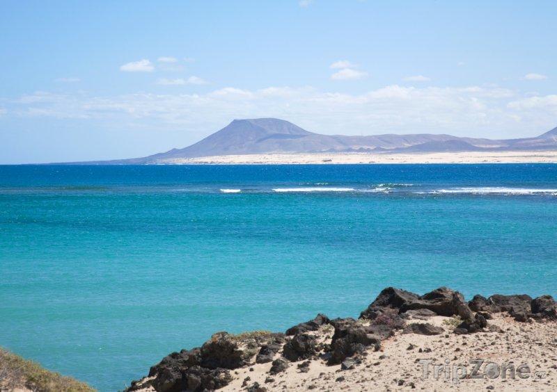 Fotka, Foto Pohled na ostrov Fuerteventura (Španělsko)