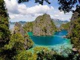 Pohled z ostrova Palawan