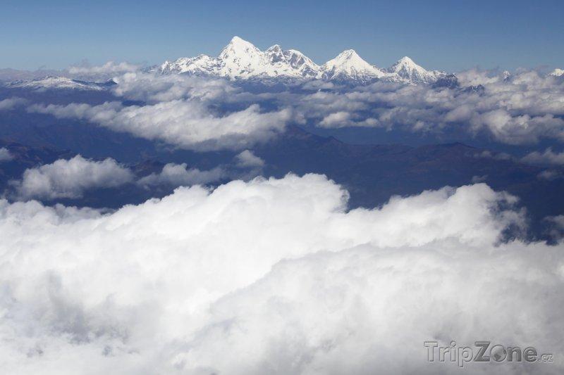 Fotka, Foto Pohoří Jomolhari (Bhútán)