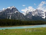 Pohoří v národním parku Jasper