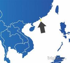 Poloha Macaa na mapě Asie