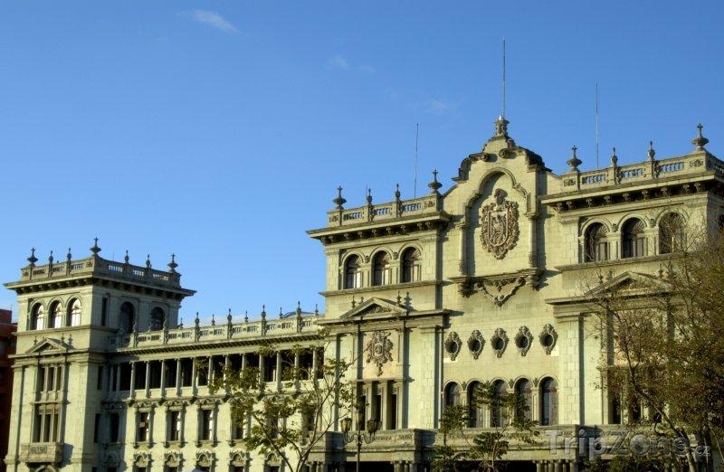 Fotka, Foto Prezidentský palác v Guatemala City (Guatemala)