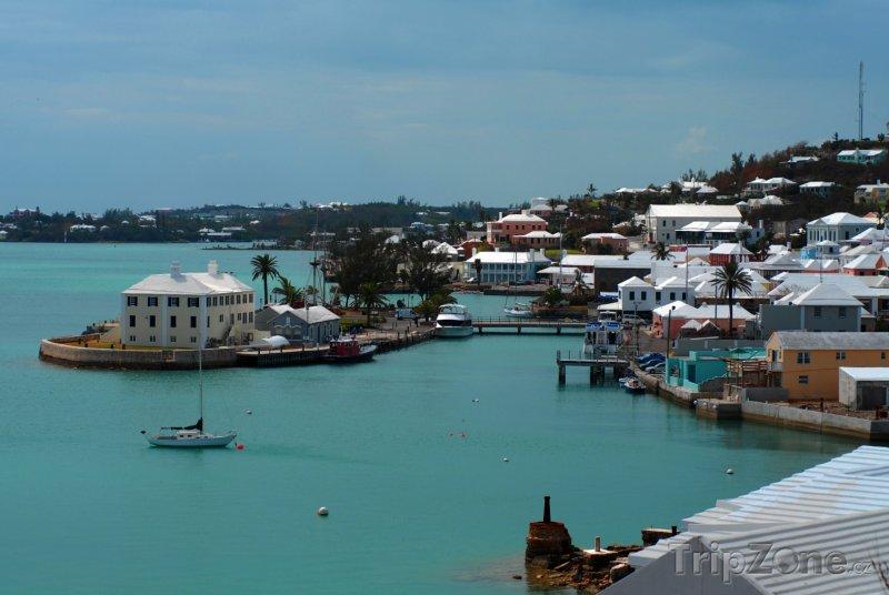 Fotka, Foto Přístav u města St. George's (Bermudy)