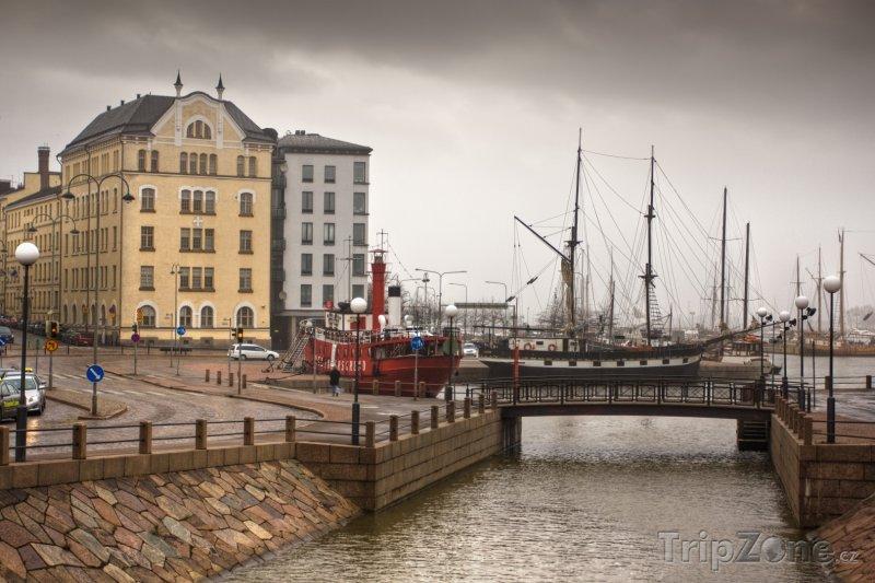 Fotka, Foto Přístav v Helsinkách (Finsko)