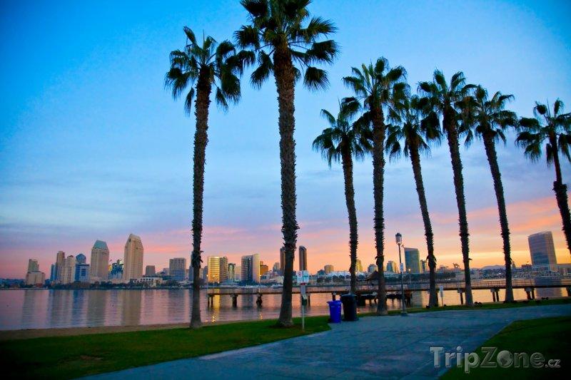 Fotka, Foto Promenáda v San Diegu (USA)