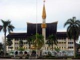 Radnice ve městě Bandar Seri Begawan