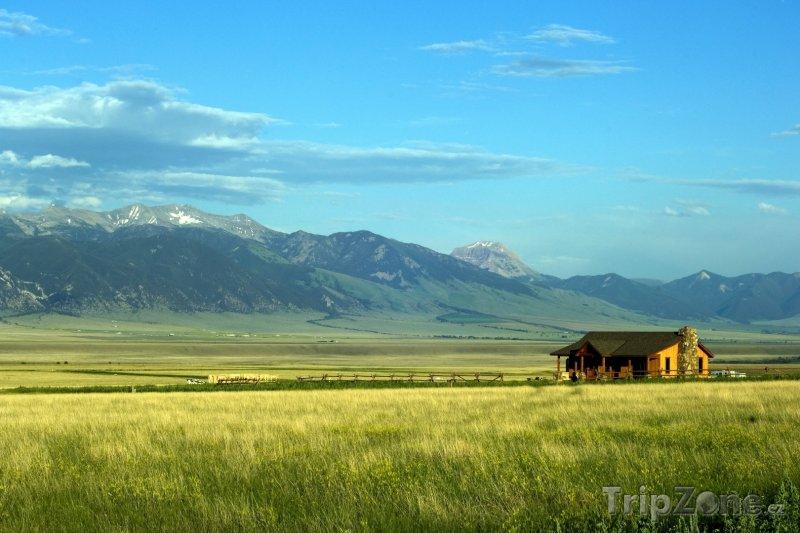 Fotka, Foto Ranč ve státě Montana (USA)