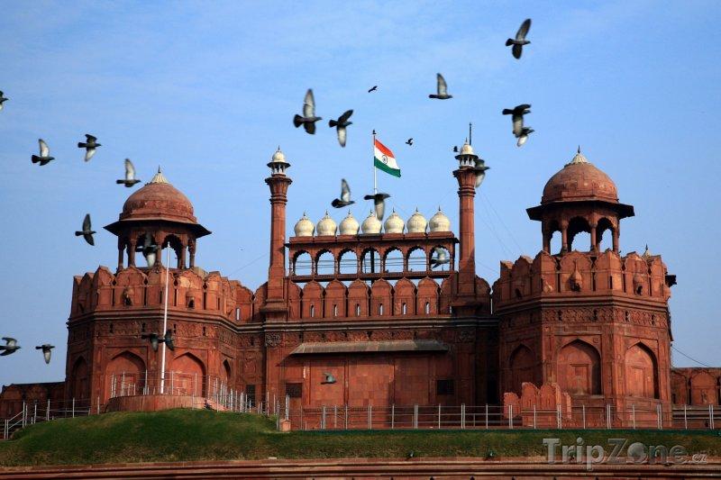 Fotka, Foto Red Fort v Dillí (Indie)