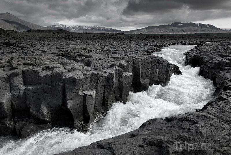Fotka, Foto Řeka na Islandu (Island)