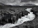 Řeka na Islandu