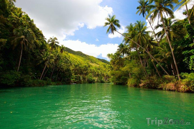 Fotka, Foto Řeka na ostrově Bohol (Filipíny)