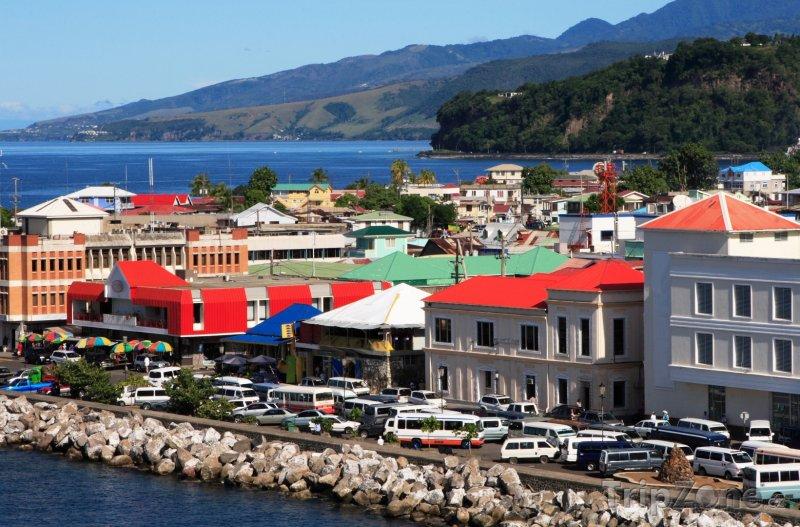Fotka, Foto Roseau panorama (Dominika)