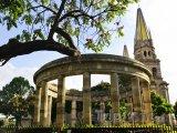 Rotunda ve městě Guadalajara