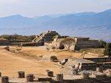 Ruiny města Monte Albán