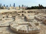 Ruiny u pevnosti Qal'at al-Bahrain
