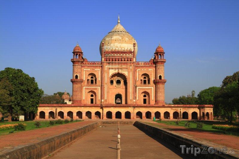 Fotka, Foto Safdarjungova hrobka v Dillí (Indie)