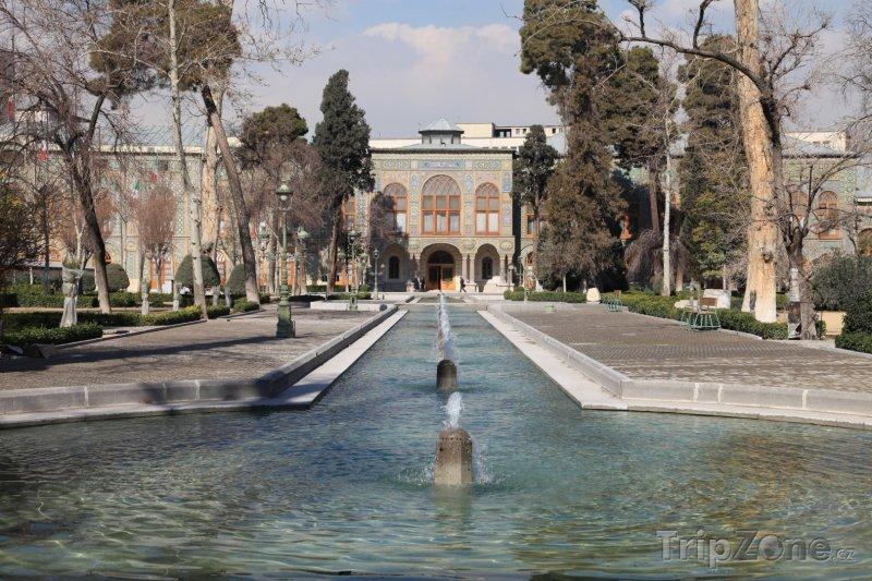 Fotka, Foto Šáhův palác v Teheránu (Írán)