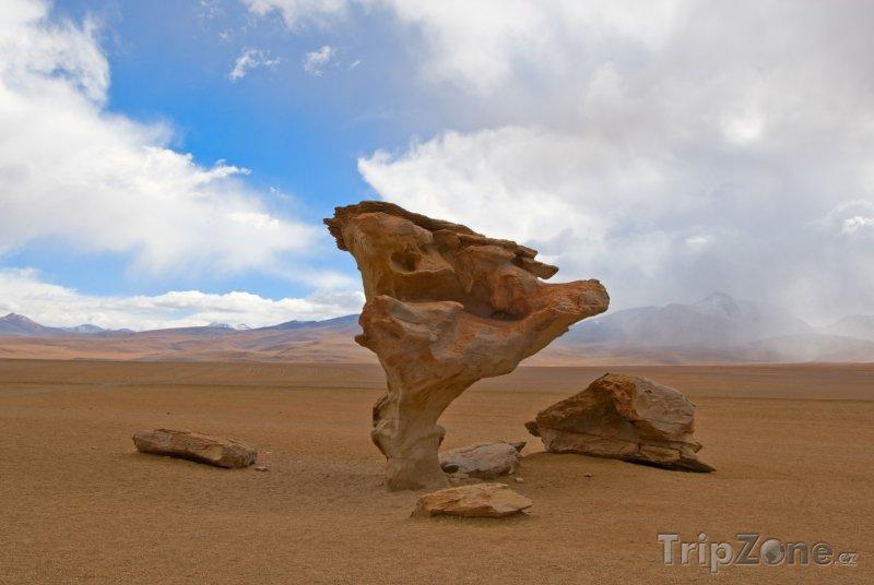 Fotka, Foto Skalní formace Arbol de Piedra (Bolívie)