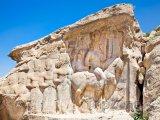 Skalní stěna Nakš-e Rajab