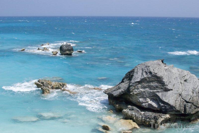 Fotka, Foto Skály v oceánu (Bermudy)