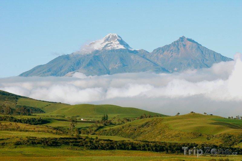 Fotka, Foto Sopka Cotopaxi (Ekvádor)