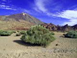 Sopka Pico de Teide na ostrově Tenerife