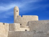 Strážní věž v pevnosti Qal'at al-Bahrain