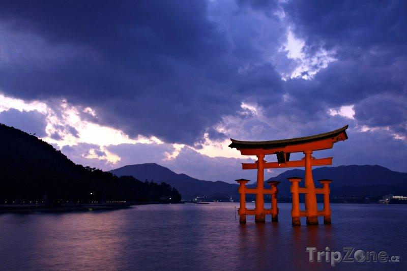 Fotka, Foto Svatyně Icukušima (Japonsko)
