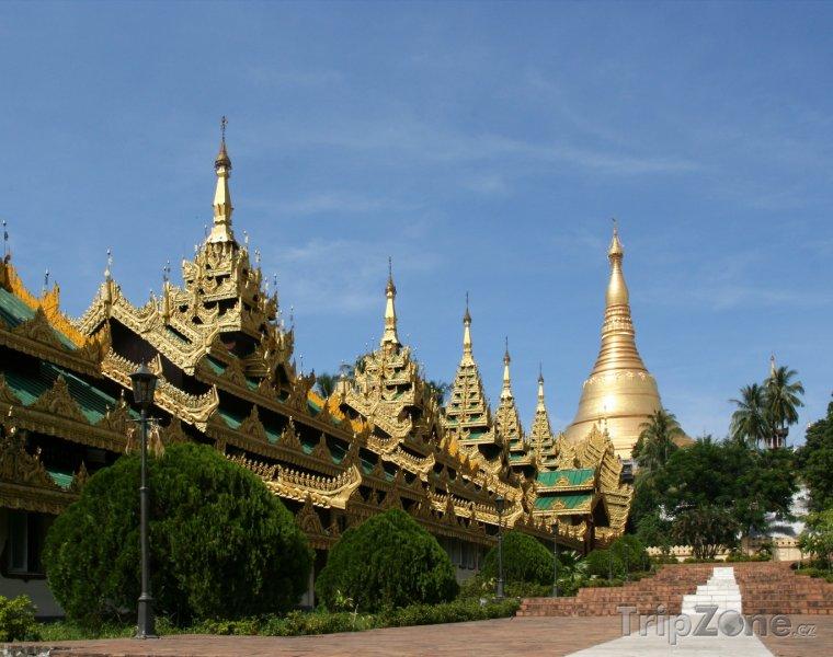 Fotka, Foto Šweitigoumská pagoda v Rangúnu (Barma)