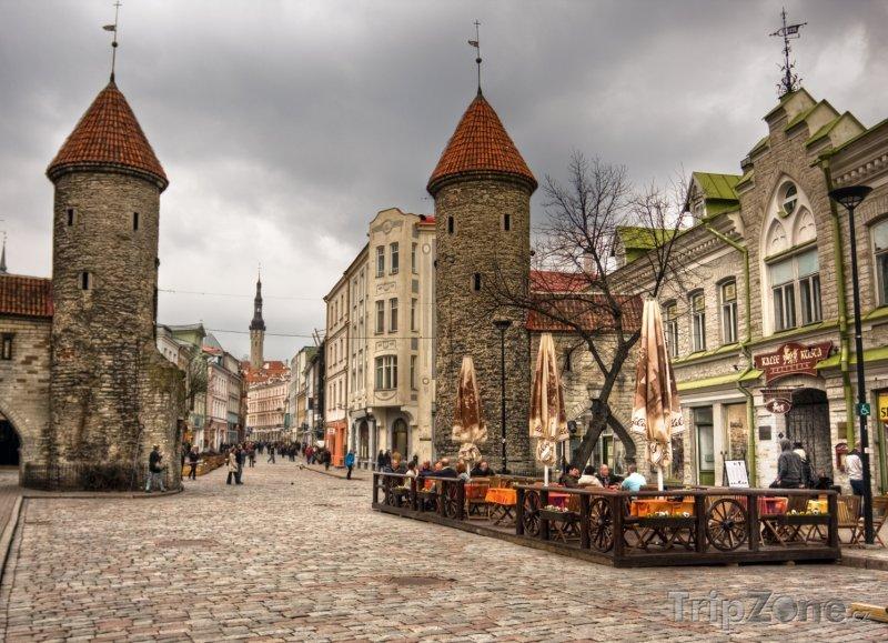 Fotka, Foto Tallinn, stará část města (Estonsko)