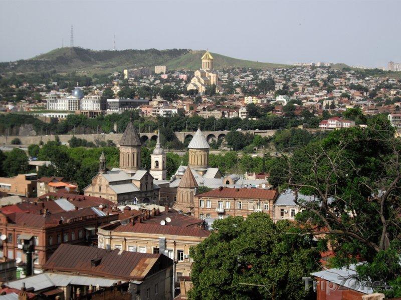 Fotka, Foto Tbilisi panorama (Gruzie)