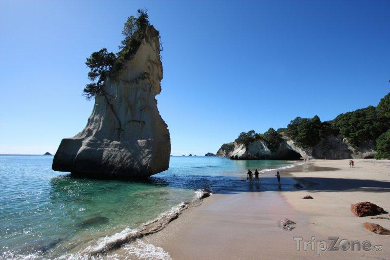 Fotka, Foto Te Whanganui-A-Hei u poloostrova Coromandel (Nový Zéland)
