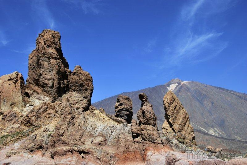 Fotka, Foto Tenerife, skalní formace Los Roques de Garcia (Španělsko)