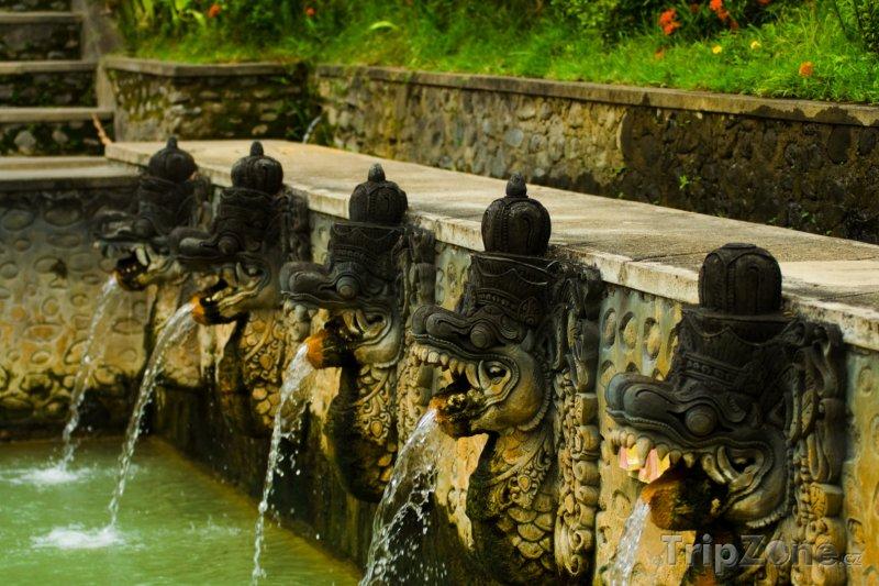 Fotka, Foto Termální prameny na Bali (Indonésie)