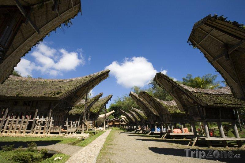 Fotka, Foto Torajská vesnice na Sulawesi (Indonésie)