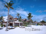 Tulum, domy na pláži