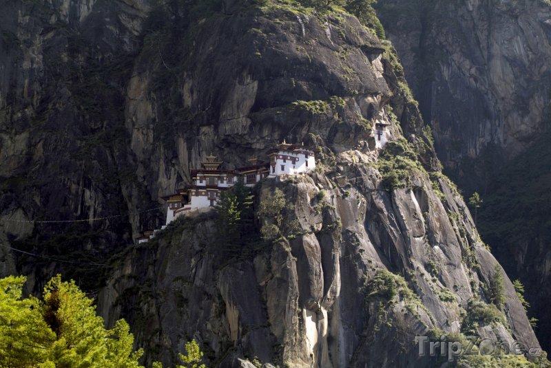 Fotka, Foto Tygří hnízdo, chrám poblíž města Paro (Bhútán)