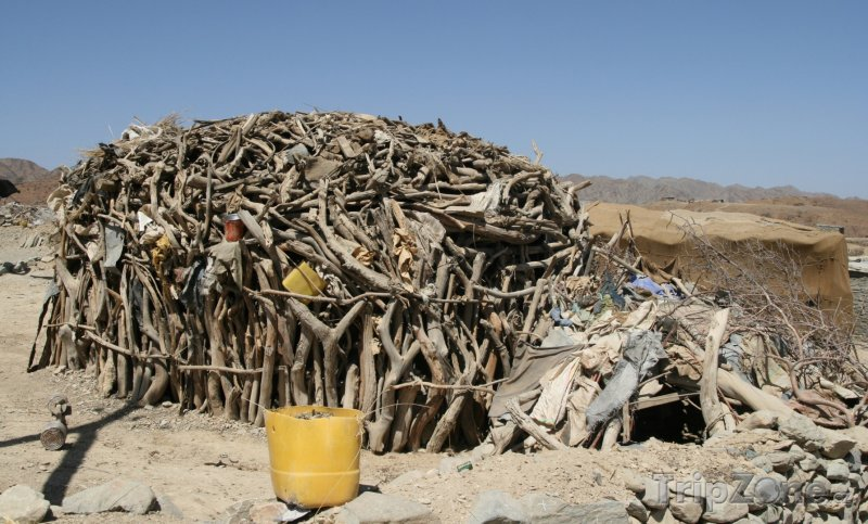 Fotka, Foto Typická etiopská chatrč (Etiopie)