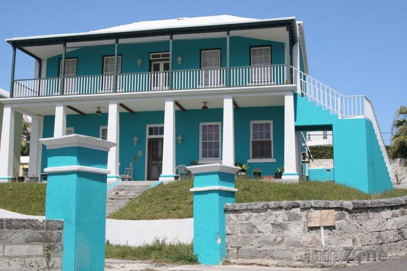 Fotka, Foto Typický dům na Bermudách (Bermudy)