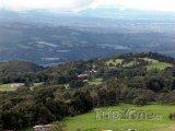 Údolí poblíž vulkánu Poás