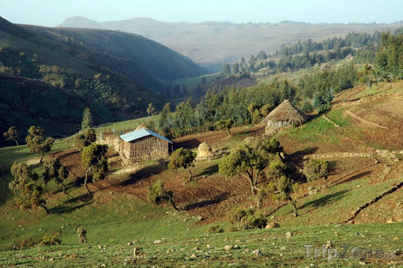 Fotka, Foto Údolí Simienských hor (Etiopie)