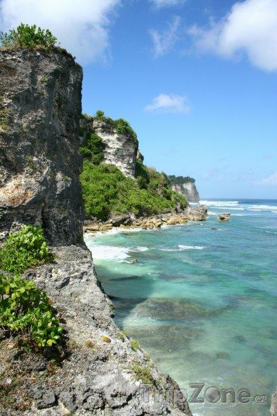 Fotka, Foto Útesy na Bali (Indonésie)