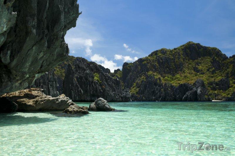 Fotka, Foto Útesy u ostrova Palawan (Filipíny)
