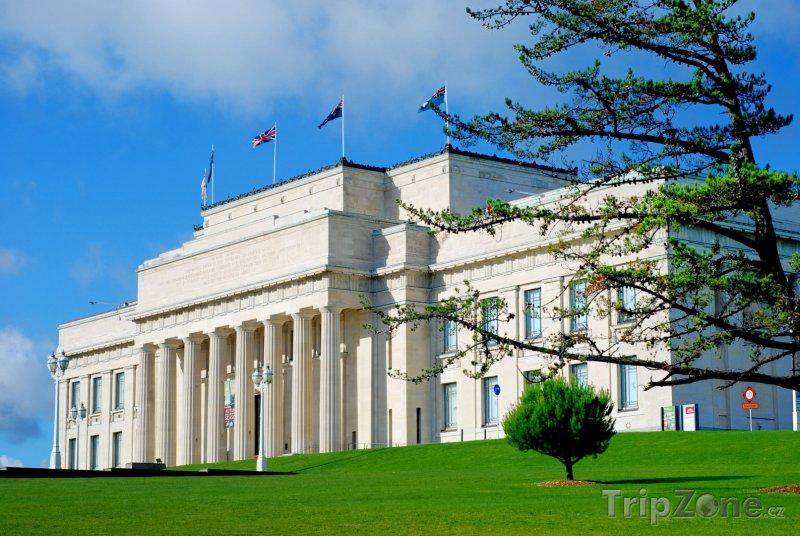 Fotka, Foto Válečné muzeum ve městě Auckland (Nový Zéland)