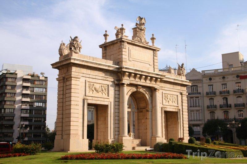 Fotka, Foto Valencie, Vítězný oblouk (Španělsko)