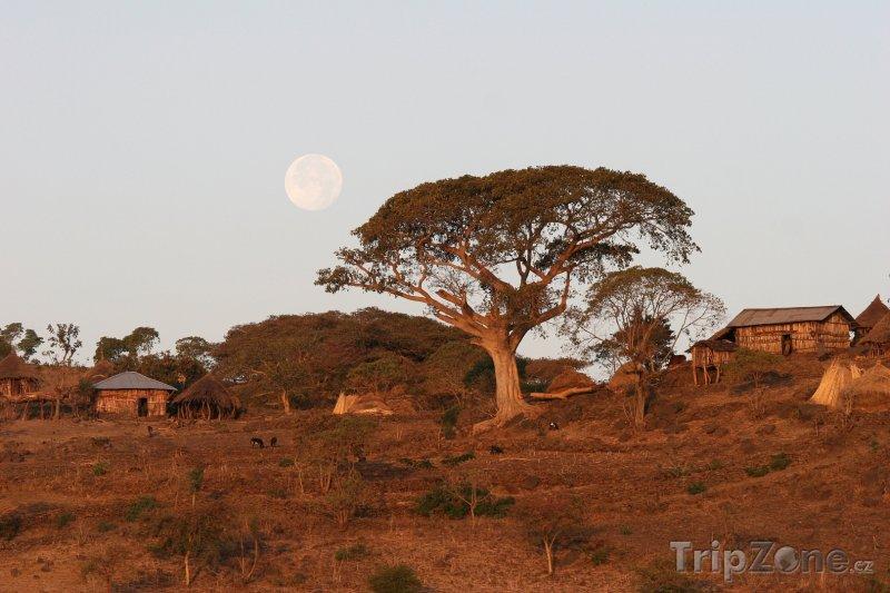 Fotka, Foto Vesnička v poušti (Etiopie)