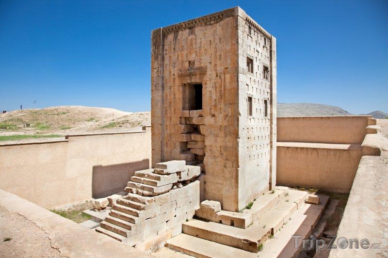 Fotka, Foto Věž Ka'ba-je Zardošt v Nakš-e Rustamu (Írán)